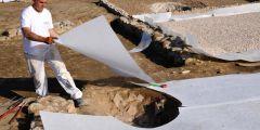 Геотекстиль: какая плотность материала нужна